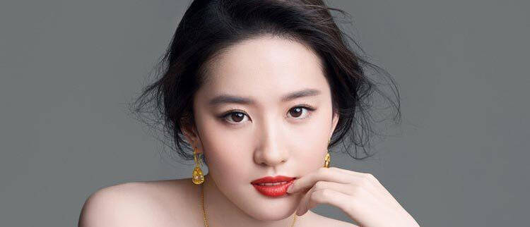 中国排名前20美女
