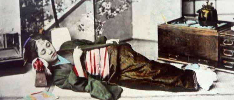 甲午战争后,日本女性罕见彩照的秘密