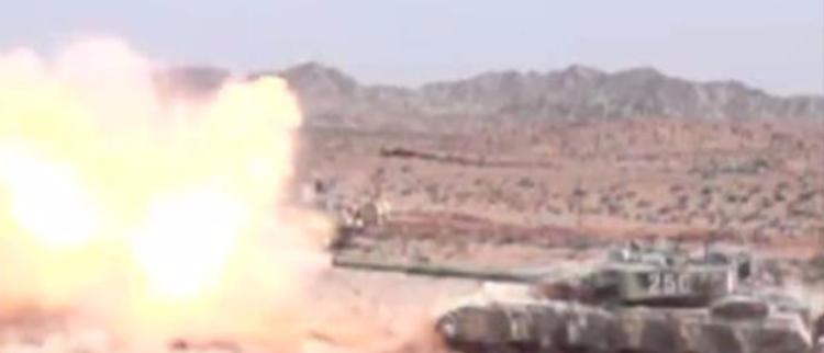 解放军高原演习震印度 五种手段打碉堡