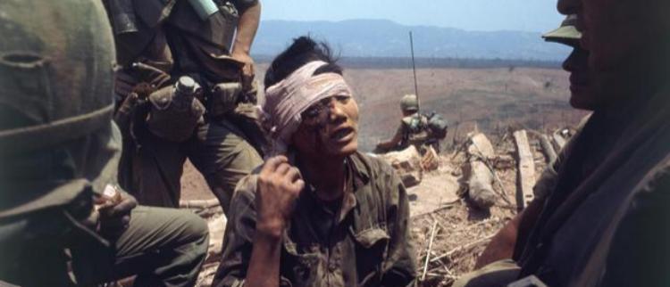 美国人的奠边府:越战溪山战役旧照