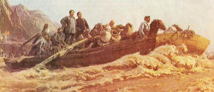 四十年前纪念毛泽东的美术作品