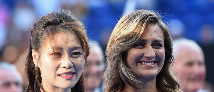 李娜入驻网球名人堂欢迎仪式