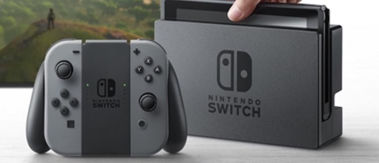 核弹加持!任天堂新游戏机Switch发布