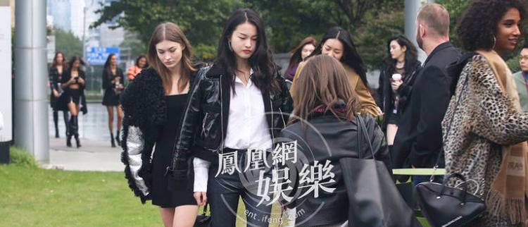 [独家]维密秀上的中国姑娘现身啦