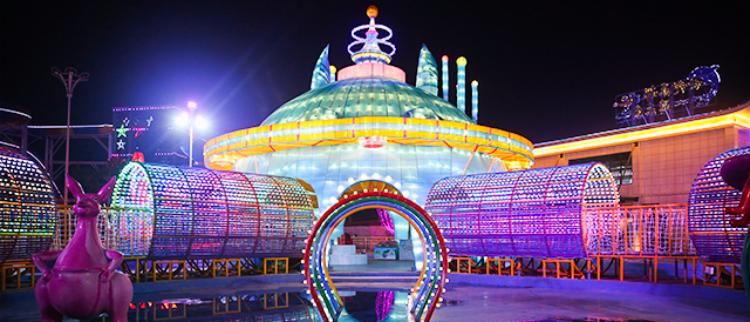 西南最大表演型灯会19日在合川开幕