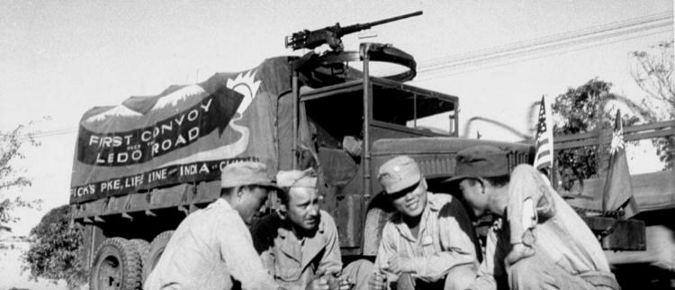 美军镜头下的中国远征军