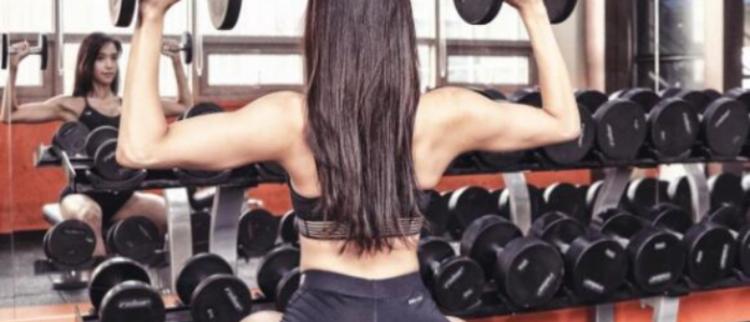 韩国健身女神性感照