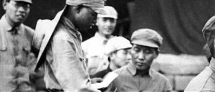 难得一见的毛泽东延安时期旧照