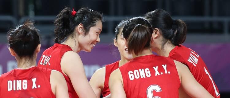 开门红!中国女排亚运首秀3-0横扫越南