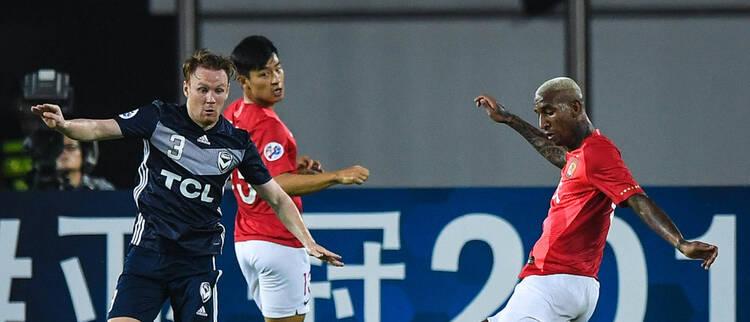 广州恒大4-0墨尔本胜利 塔神梅开二度