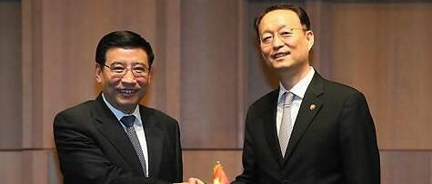 第三次中韩产业合作部级对话在首尔举行