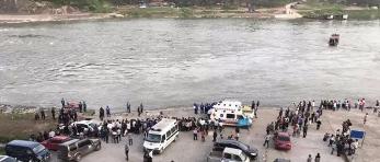 11岁女儿落水母亲跳河相救 2人被冲走