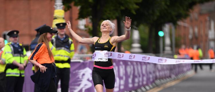 靓丽!2017都柏林女子马拉松开赛