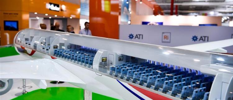 中俄合研宽体客机在巴黎航展展出
