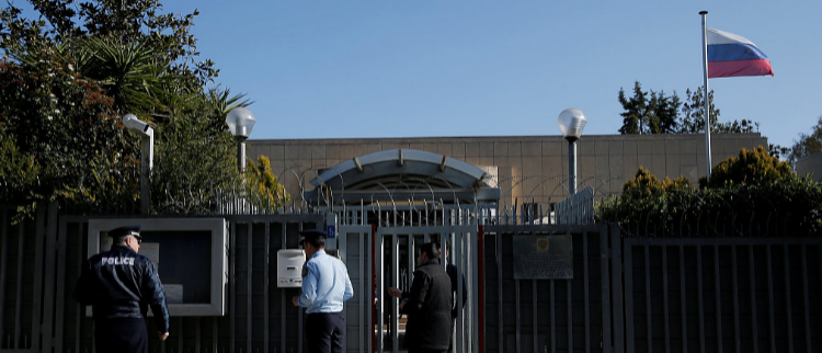 俄驻希腊领事馆遭手榴弹袭击