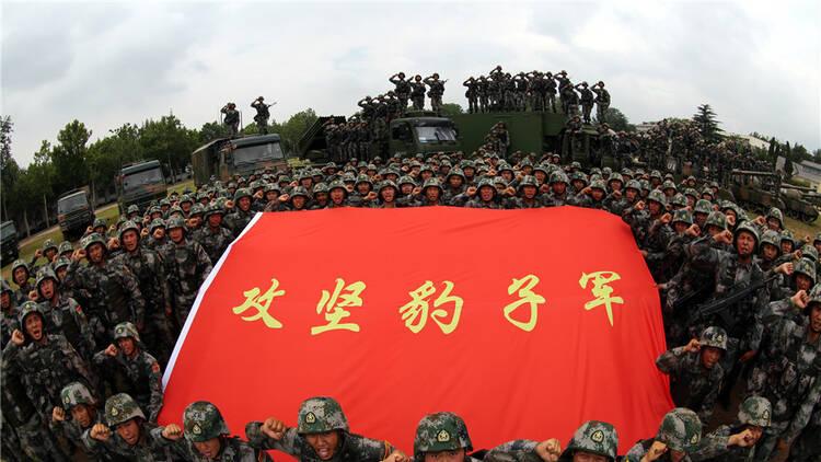 朱日和:红军79坦克大战蓝军96