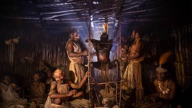 揭秘:安加部落如何制作现代木乃伊