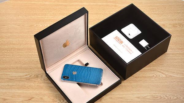重新定义轻奢,苹果推出鳄鱼皮版iPhone X,售价犀利