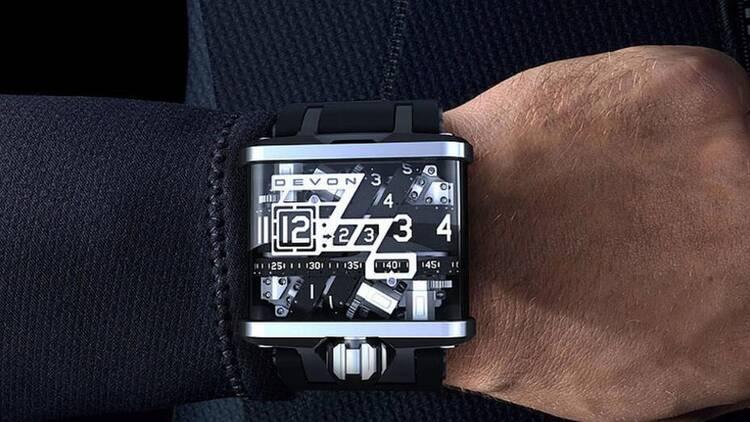 奢侈科技手表:最高售价500万美元