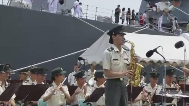 日本自卫队不放军乐 竟奏动画片主题曲