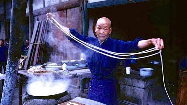 1980年代外国游客拍摄中国各地小吃
