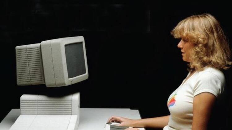 80年代的苹果是什么样的?
