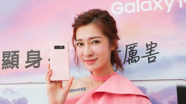 三星发布Note8粉色版,S Pen都是粉的