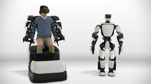 丰田发布仿人机器人T-HR3