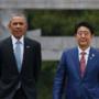 奥巴马拥抱广岛原爆幸存者 打的什么小