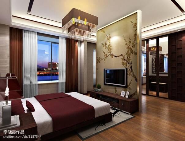 玄关隔断装修效果图 装修客厅和卧室之间用什么材料做