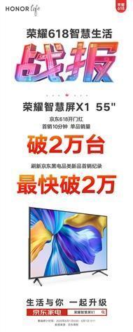 荣耀智慧屏X1销量破小米电视纪录;半价iPhone SE秒没皆因外挂?