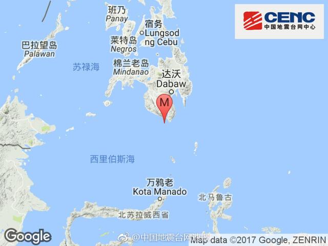 """菲律宾棉兰老岛发生7.0级地震 有人""""被震醒"""" - 晓朝 - 晓朝的博客"""