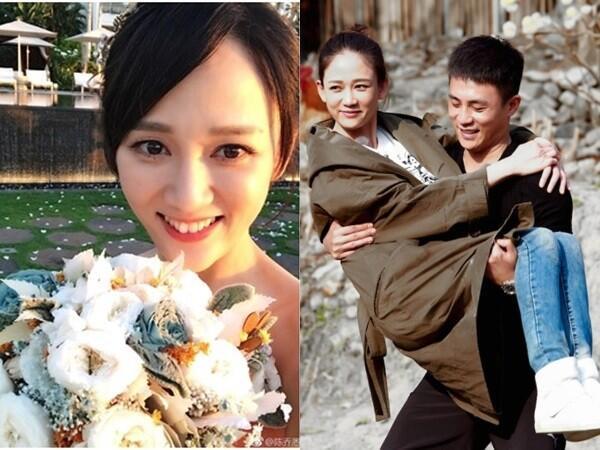 陈乔恩被曝年底与杜淳结婚 双方家长早已在节目中见面
