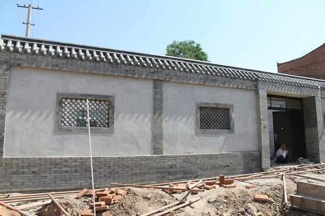 中式别墅围墙效果图