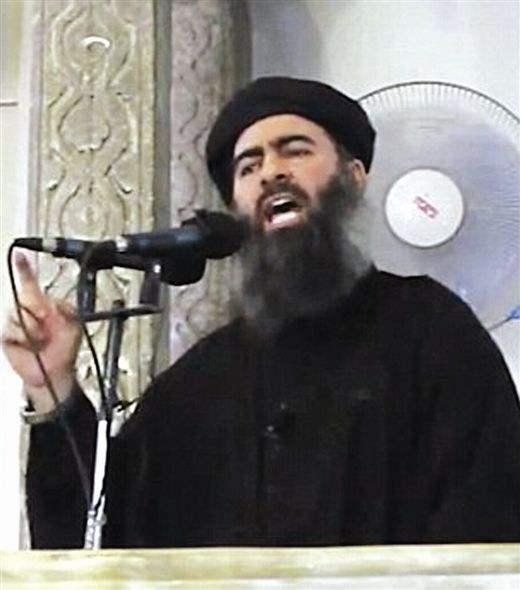 恶灵犹在:恐怖分子头目巴格达迪再次出现