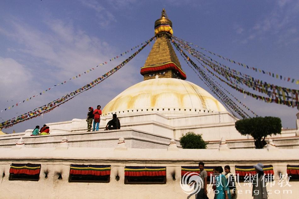 实拍尼泊尔最著名的佛教圣地 安奉迦叶遗骨