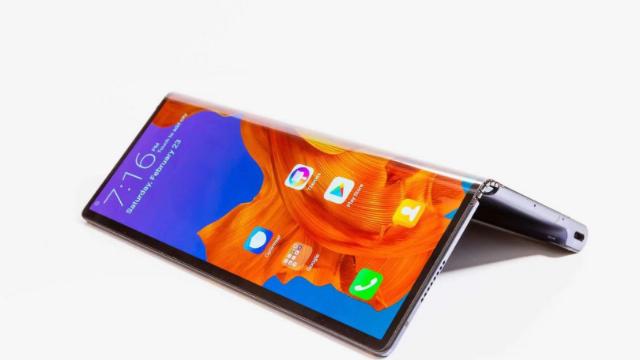 华为发布全球首款5G折叠屏手机售价2299欧元