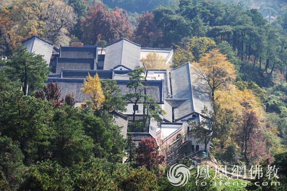 它是南岳第一丛林 也是一座高僧辈出的寺院