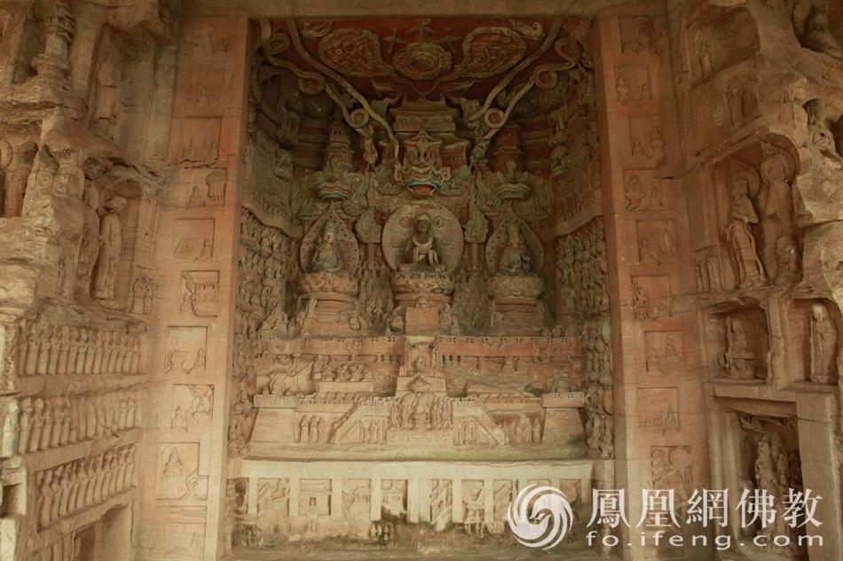 很震撼!这么大规模的石刻至今保存完整 太珍贵了