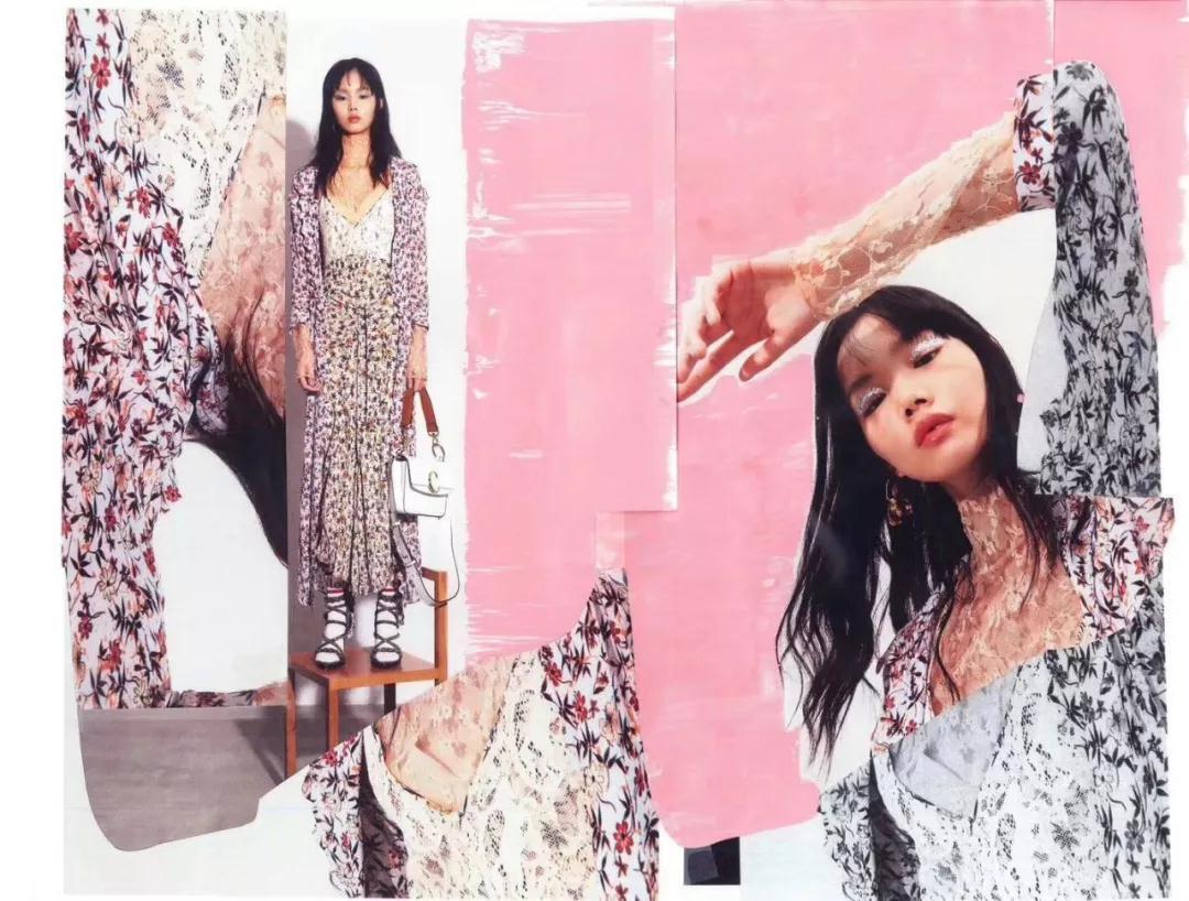 模特李芙瑶COSMO美妆片 有态度有格调的时髦人生
