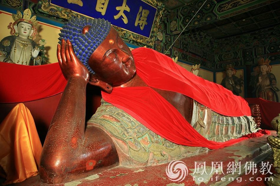 世界现存最大铜铸卧佛就在北京!