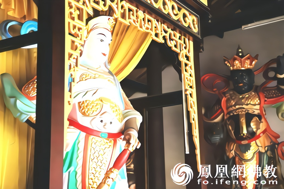 瞻礼韦驮菩萨圣像:祈愿恶缘消除好运常相伴