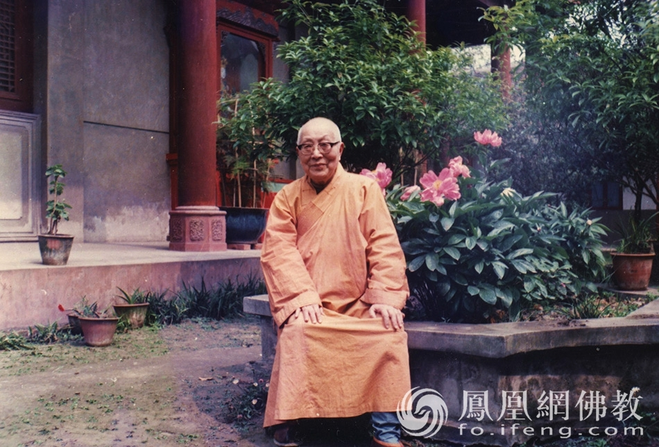 珍贵影像!中国当代第一比丘尼隆莲法师30张罕见老照片