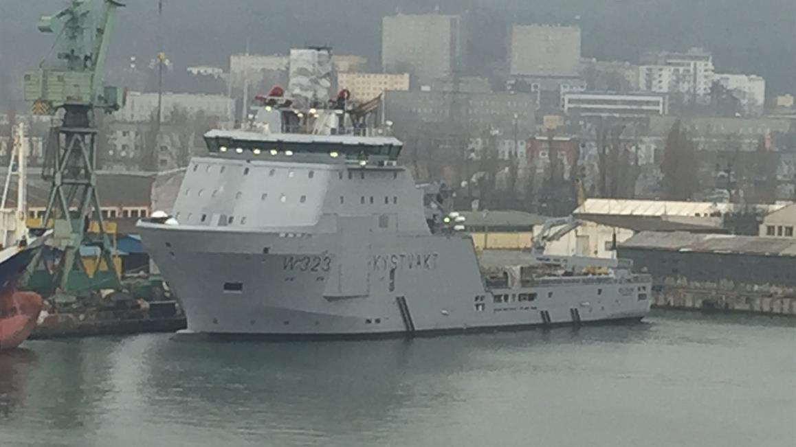 """两艘""""中国制造""""海警船加入挪威海岸警卫队"""