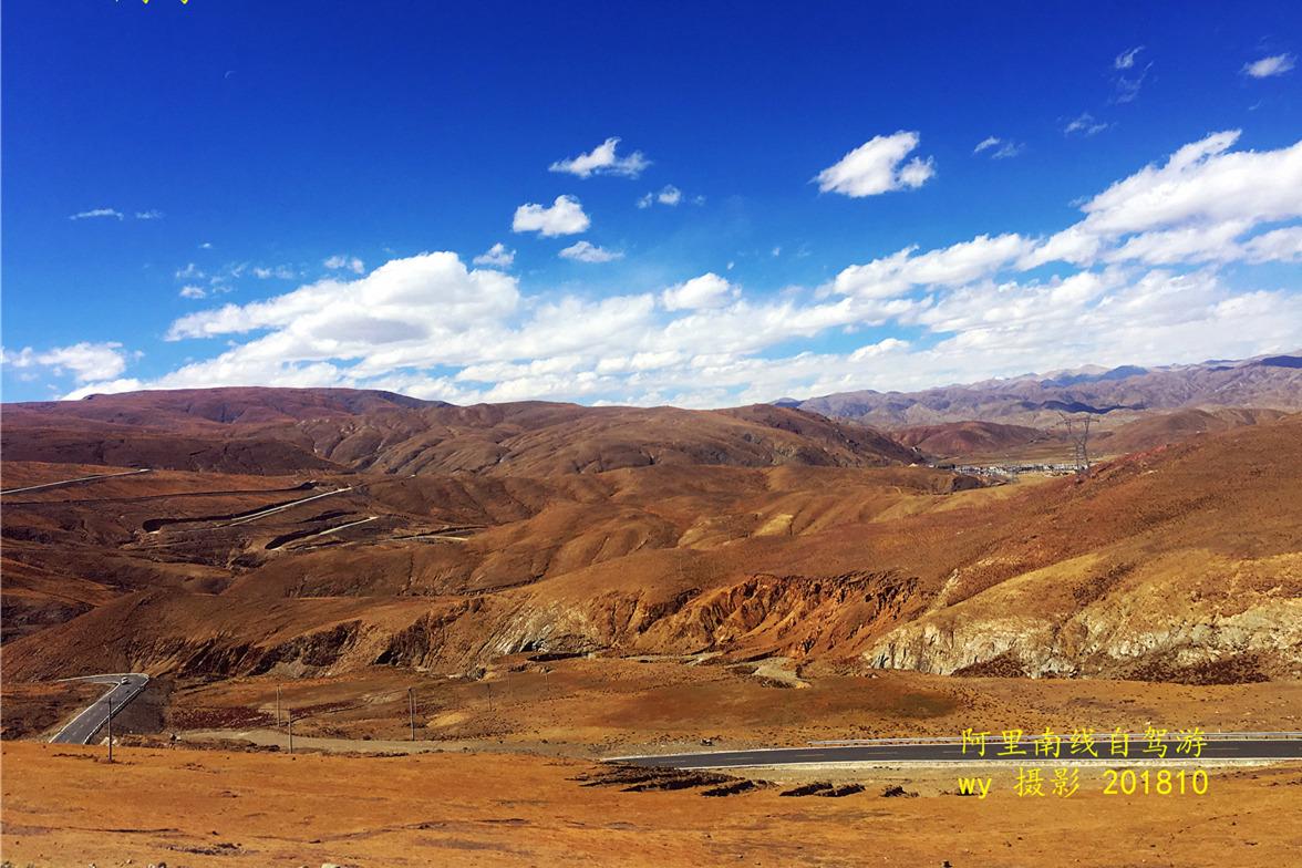 自驾旅途风景完整记录音乐片系列 西藏阿里南线之昂仁县至拉孜县