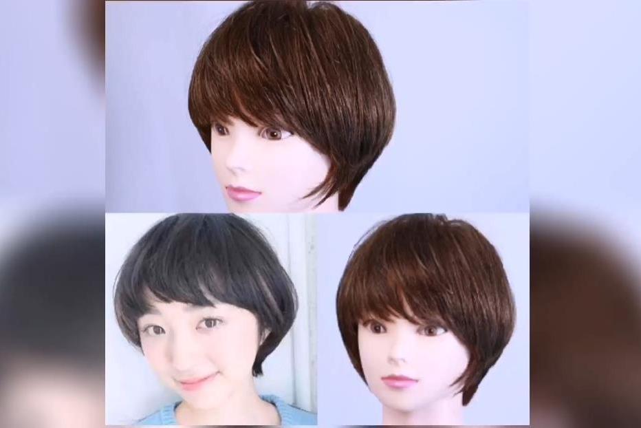 柔美韩式短发,2020新年新发型有多了一个选择