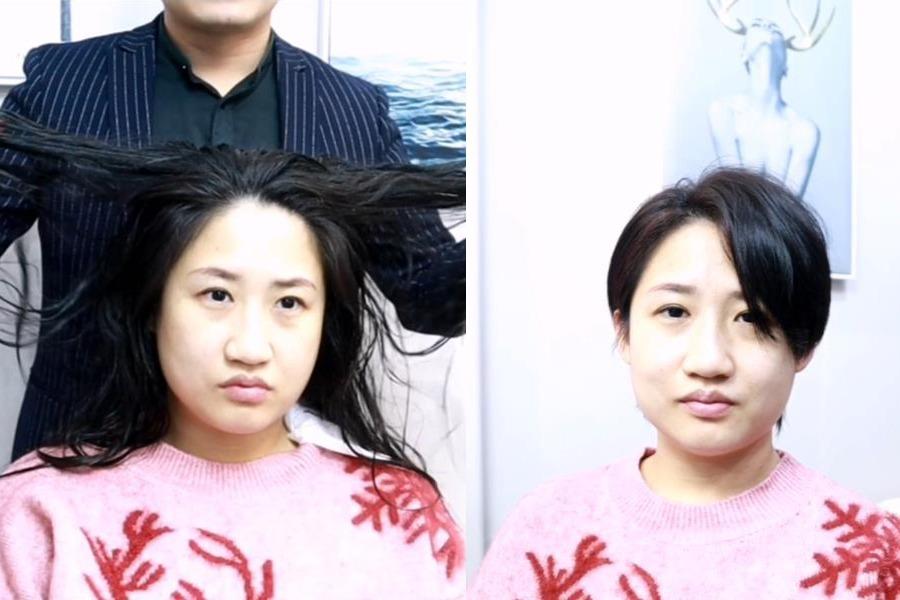 换发型等于整容?不信就看看吧