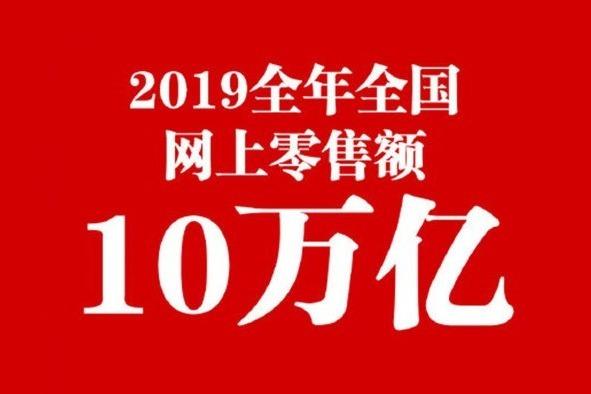"""2019全国网购花掉10万亿 你""""贡献""""了多少?"""