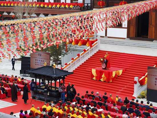 开年最殊胜:广东陆河观天寺落成、圣像开光法会