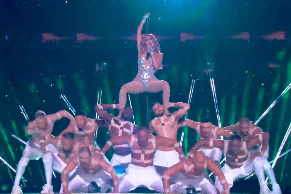 2020第54届超级碗现场Shakira和Jennifer Lopez热单串烧